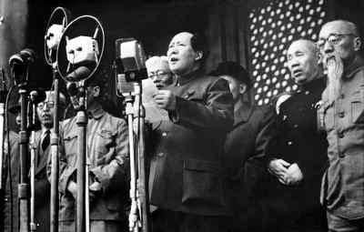 """侯波1949年10月1日摄""""开国大典"""""""