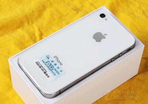 时尚主流 烟台苹果手机4代黑白款热销
