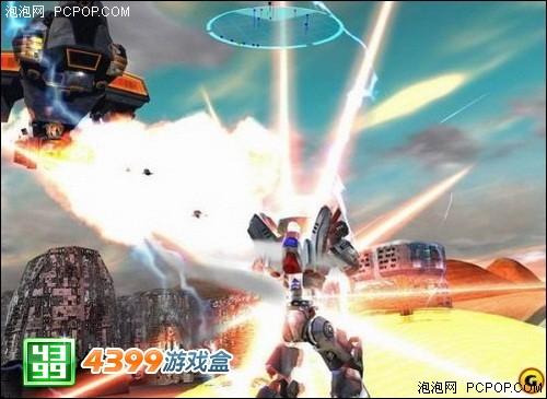 游戏推荐3:《变形金刚:赛博坦之战 中文版》-变形金刚3热映 4399图片