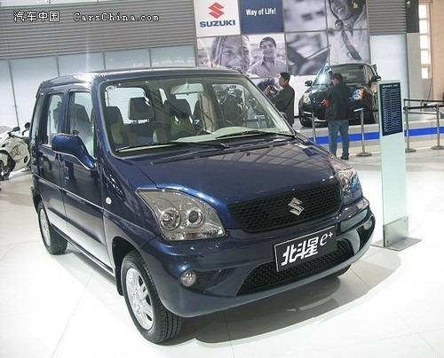 望在年底推出的昌河小型SUV车型将会以现款北斗星为基础,在车型高清图片