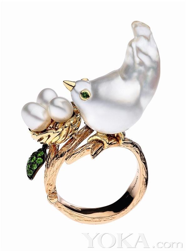珠宝照进显微镜 动物指尖精灵