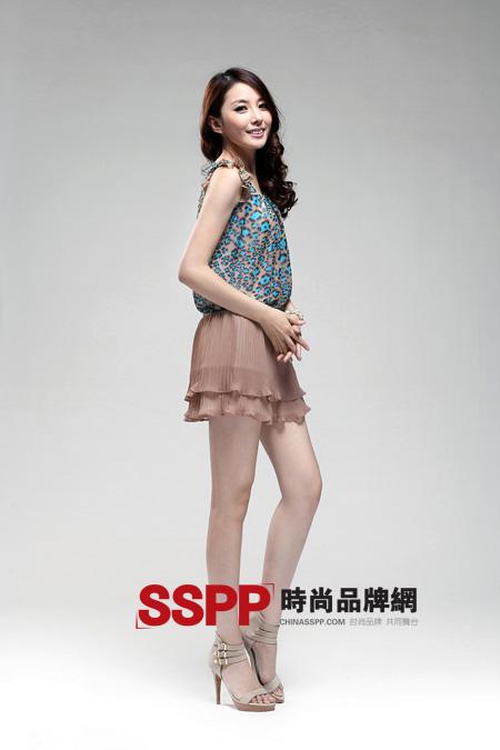 秋水伊人2011夏装连衣裙