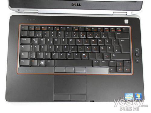 戴尔latitude e6420笔记本键盘设计