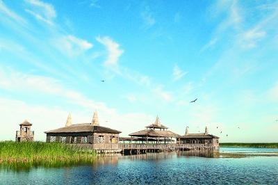 绥滨月牙湖风景区