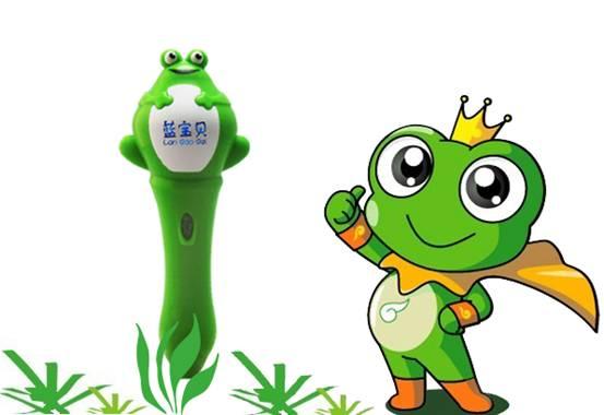 科技滚动 正文       蓝宝贝青蛙王子点读笔g1标配了10本彩色实景有声