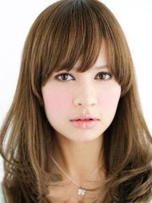 修饰女生8款方脸发型必选短发脸型发型斜刘海图片