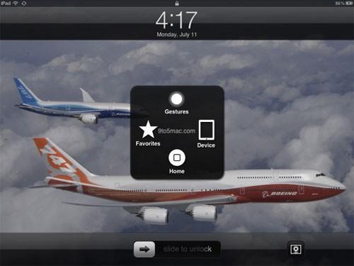 beta3在ipad上界面