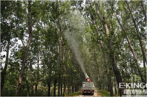 防治高大林木及纵深在50米的林木,有独特优势   8.