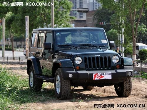 jeep吉普牧马人限量特价南宁优惠2w 高清图片