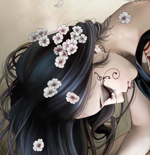 画美人更美 中国知名插画师张小白作品 科技频
