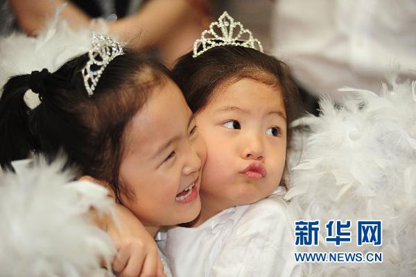沈阳幼儿园,小学校举行毕业典礼