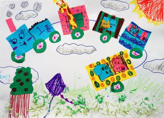 探索春天的秘密 我们来造动物园    今日启想儿童艺术中心创意展