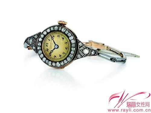 天梭首枚女士腕表