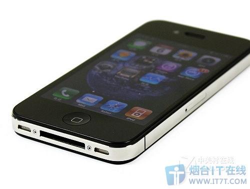 一代经典 烟台苹果手机4代黑白款销售中