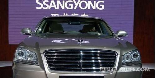 改款双龙主席谍照曝光 将重返中国市场