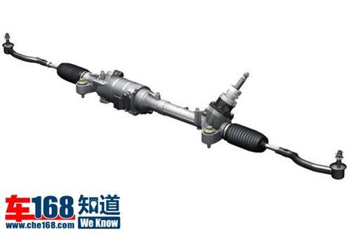 睿翼的电动助力转向系统,使用的就是第二种结构