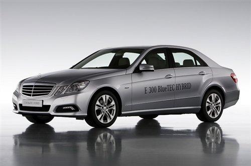 2012年发布 奔驰将推E级柴电混合动力版