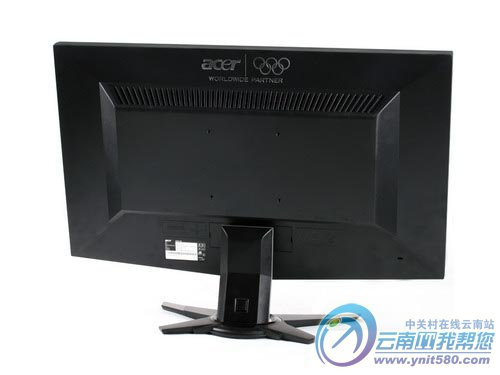 acer g245hbmid显示器背面