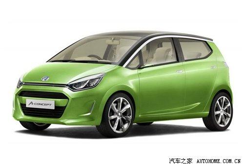驶向绿色生活 大发a-concept概念车发布图片
