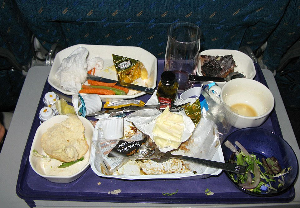 比如飞机上的奢华午餐